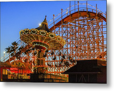 Santa Cruz Seaswing And The Giant Dipper 3 Metal Print by Scott Campbell