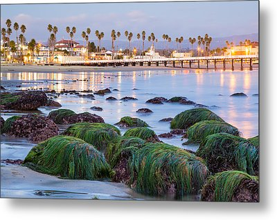 Santa Cruz Twilight Metal Print by Adam Pender