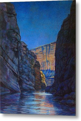 Santa Elena Canyon Big Bend Texas Metal Print by Dan Terry