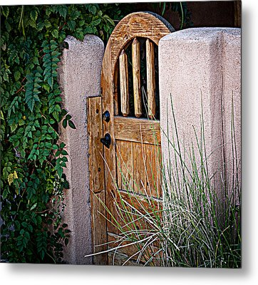 Metal Print featuring the photograph Santa Fe Gate by Patrice Zinck