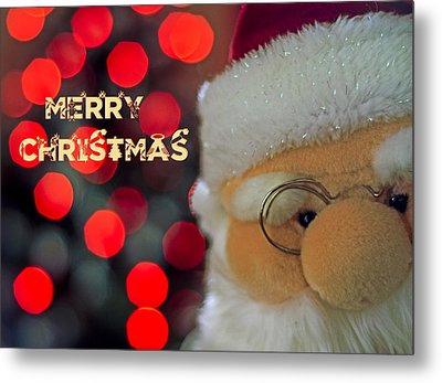 Santa  Metal Print by Spikey Mouse Photography