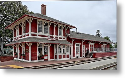 Metal Print featuring the photograph Santa Paula Station by Michael Gordon