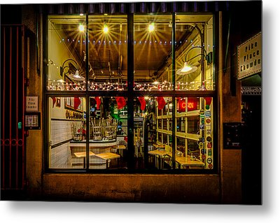 Santa-ready Pike Place Chowder After Closing Metal Print by Brian Xavier