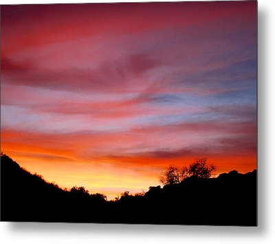 Santa Susana Sundown Metal Print
