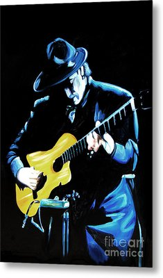 Santana Metal Print by Nancy Bradley