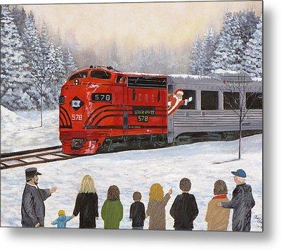 Santa's Miracles Metal Print by Kevin F Heuman