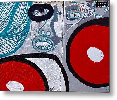 Sao Paulo Graffiti I Metal Print by Julie Niemela