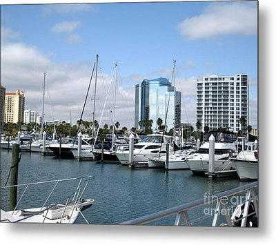 Metal Print featuring the photograph Sarasota Fl Usa by Oksana Semenchenko