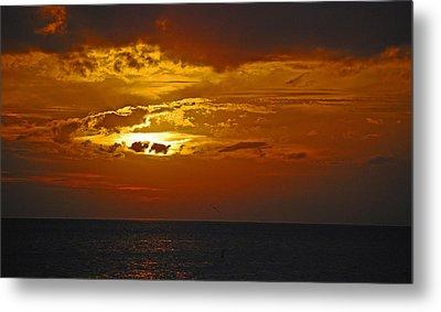 Sarasota Sunset Sun 98 Metal Print by G L Sarti