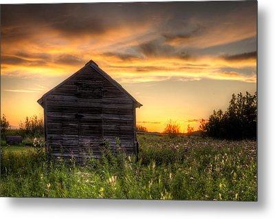 Saskatchewan Sunset Metal Print by Matt Dobson