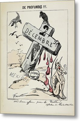 Satirical Caricature Metal Print by British Library