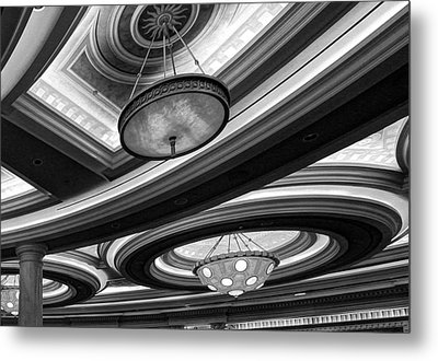 Saturn's Rings Metal Print by Linda Edgecomb