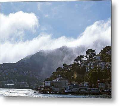 Sausalito- California Metal Print by Haleh Mahbod