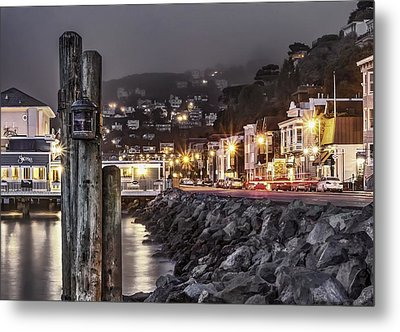 Sausalito Waterfront 2 Metal Print by Phil Clark