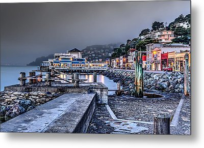 Sausalito Waterfront 3 Metal Print by Phil Clark