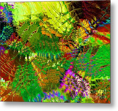 Savage Flowers Metal Print