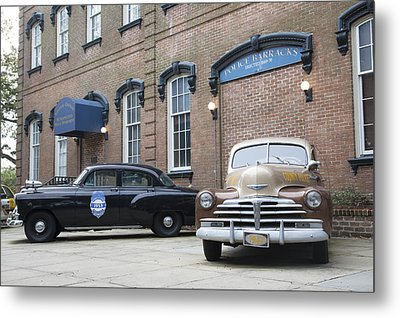 Savannah Chatham Metropolitan Police Department Metal Print by Erin Cadigan