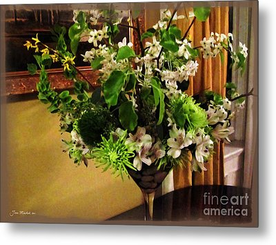 Savannah Still Life Metal Print by Joan  Minchak