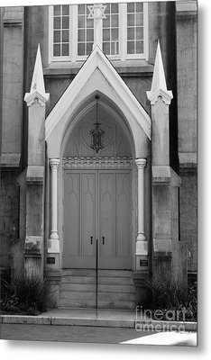 Savannah Synagogue B Metal Print by Jennifer Apffel
