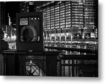 Save A Life On The River Metal Print by Melinda Ledsome