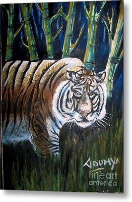 Save The Tiger Metal Print by Soumya Suguna