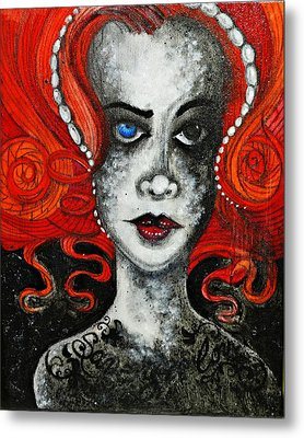 Metal Print featuring the painting Save Your Love by Sandro Ramani