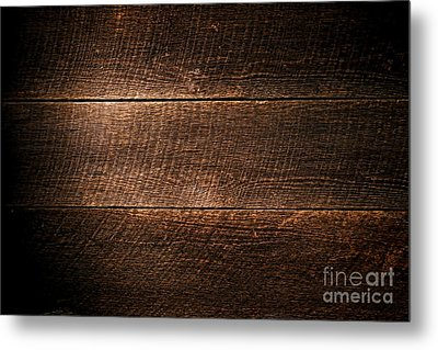 Saw Marks On Wood Metal Print by Olivier Le Queinec