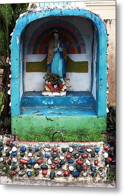 Say A Prayer In Bocas Metal Print by John Rizzuto
