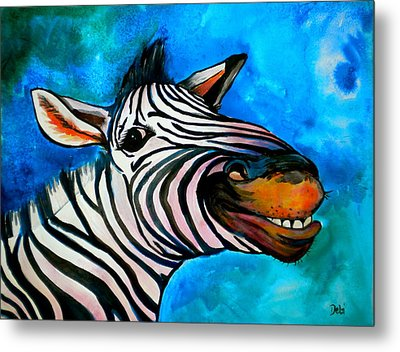 Say Cheese Metal Print by Debi Starr