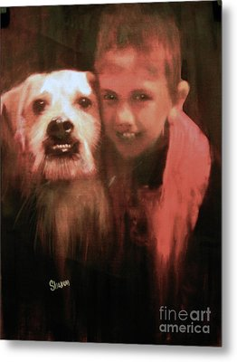 Say Cheese Metal Print by Sharon Burger