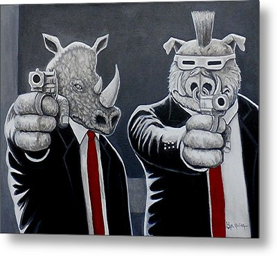 Say Turtles Again Metal Print by Al  Molina