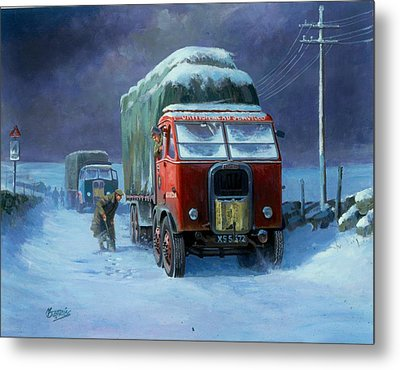 Scammell R8 Metal Print by Mike  Jeffries