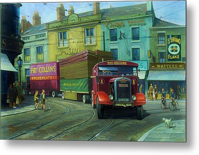 Scammell Showtrac Metal Print by Mike  Jeffries