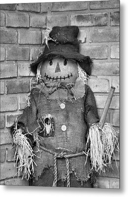 Scarecrow Metal Print by Dan Sproul
