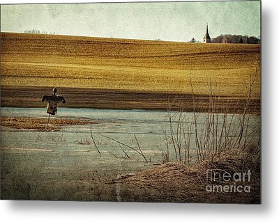 Scarecrow's Realm Metal Print