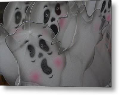 Metal Print featuring the photograph Scary Ghosts by Patrice Zinck