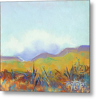 Scattered Seeds Metal Print by Tracy L Teeter