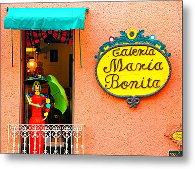Scene @ Mexico City Metal Print