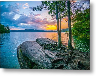 Scenery Around Lake Jocasse Gorge Metal Print