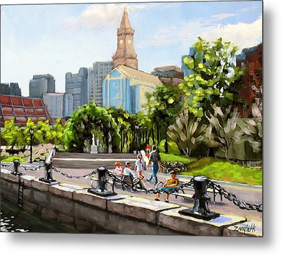 Scenic Boston Metal Print