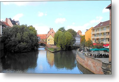 Metal Print featuring the photograph Scenic Nuremberg by Kay Gilley