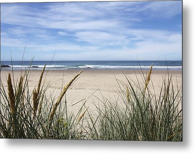 Scenic Oceanview Metal Print by Athena Mckinzie