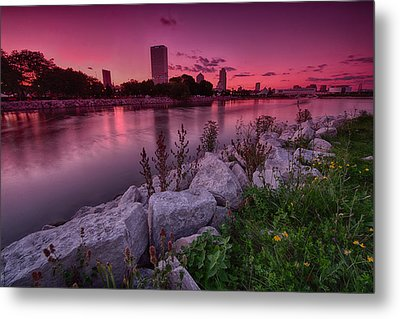 Scenic Sunset Metal Print by Jonah  Anderson