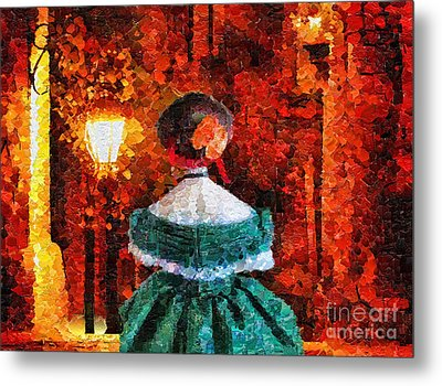 Scent Of A Woman Metal Print by Mo T