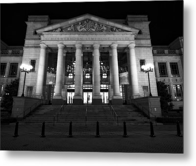 Schermerhorn Symphony Center In Nashville Metal Print by Dan Sproul