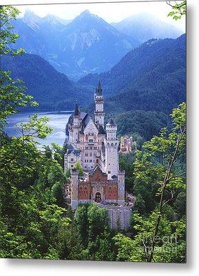 Schloss Neuschwanstein Metal Print by Timm Chapman