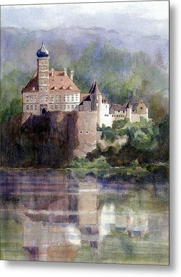 Schonbuhel Castle In Austria Metal Print by Janet King