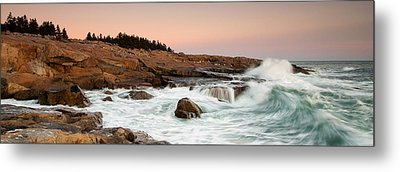 Schoodic Point - Acadia National Park Metal Print by Patrick Downey