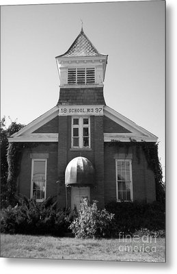 Metal Print featuring the photograph School House by Michael Krek