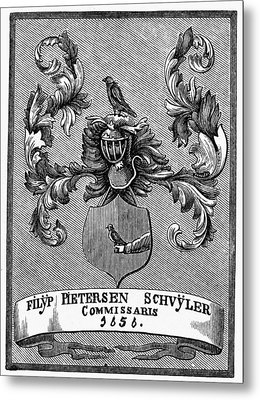 Schuyler Family Arms Metal Print by Granger